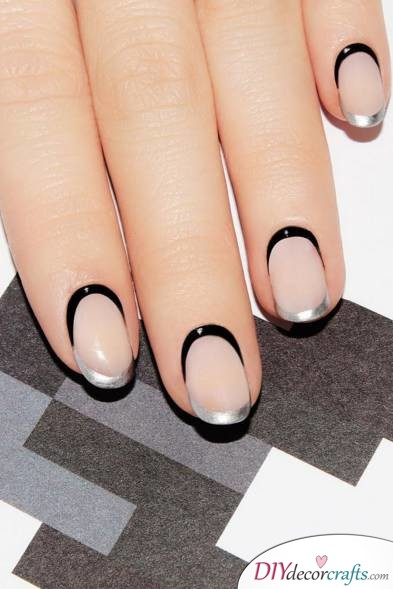 The Best Nail Art Ideas For Halloween, Creepy Chic Nails