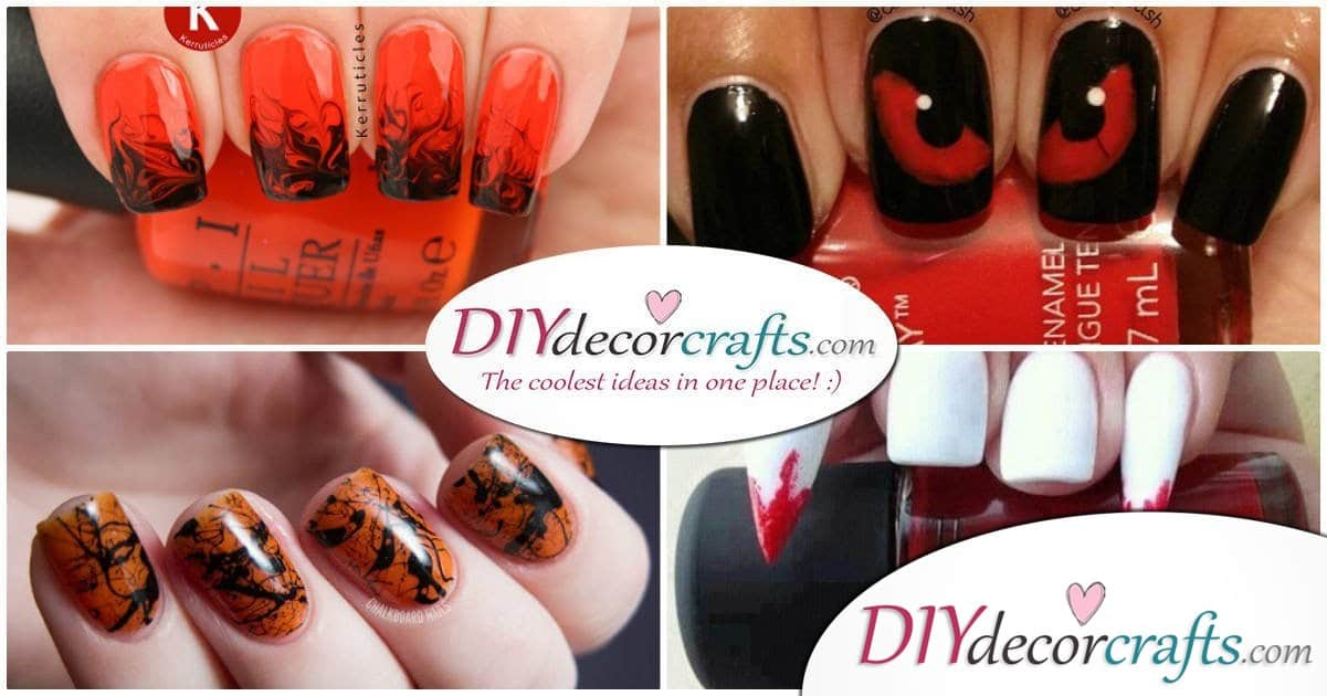 11 Brilliant and Spooky Halloween Nail Art Designs To Try This Halloween