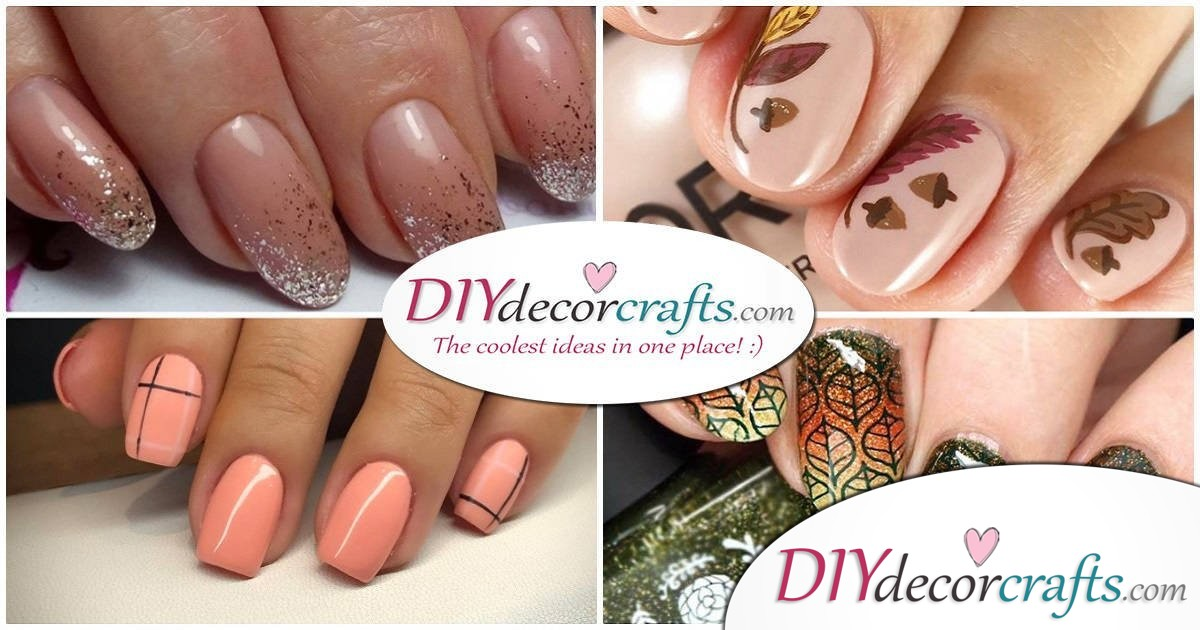 Cute and Pretty Fall Nail Art Ideas to Brighten Up Your Mood