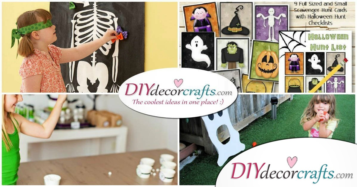 DIY Halloween Party Game Ideas For Kids Of All Ages