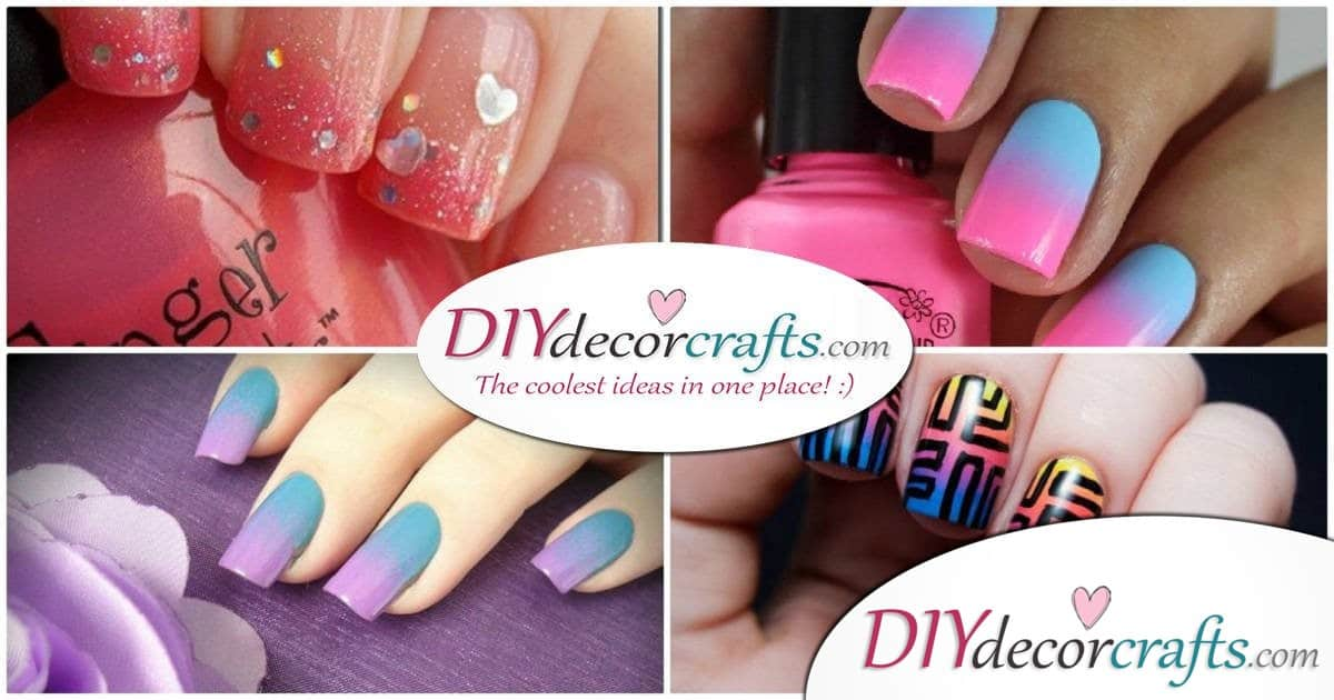 Easy Tutorial on How To Do Ombre Nail Art – For Beginners