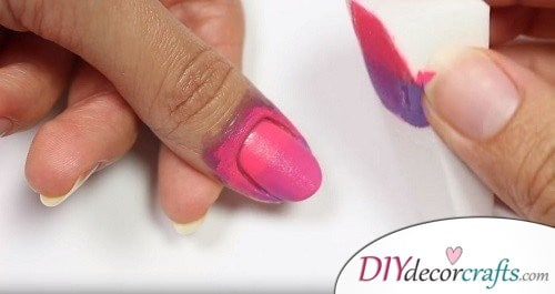 How To Start Step 1 - Ombre Nail Art