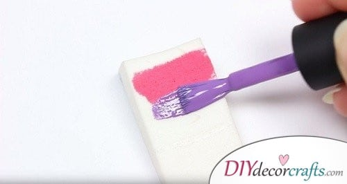 How To Start Step 2 - Ombre Nail Art