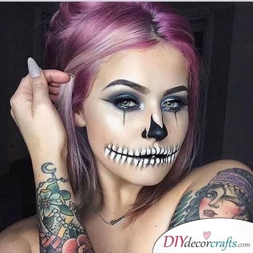Classic Skeleton - Halloween Makeup Design