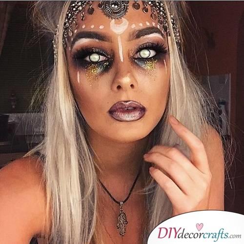 Fortune Teller - Halloween Makeup Design