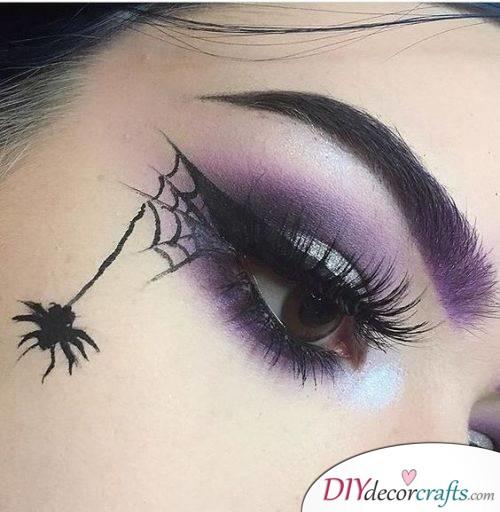 Cobweb - Halloween Makeup Design