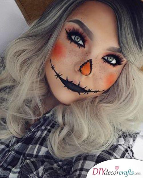 Scarecrow - Halloween Makeup Design