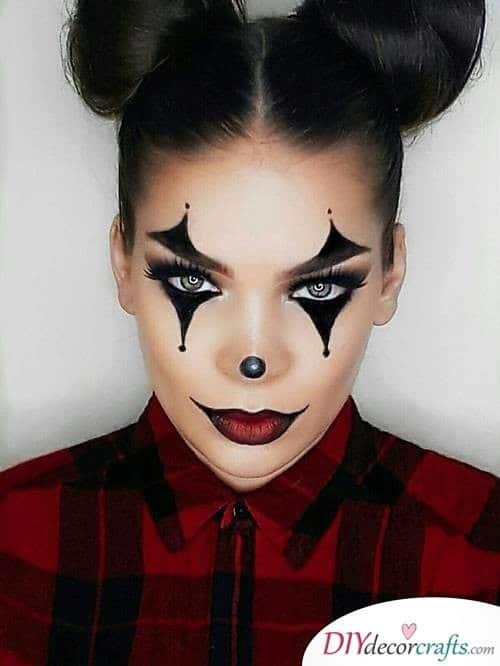 Clown - Halloween Makeup Design