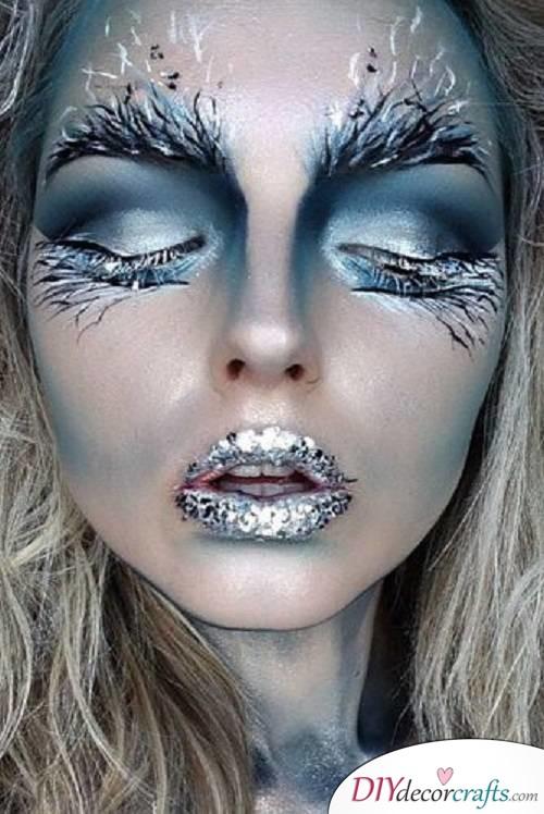 Elsa - Halloween Makeup Ideas