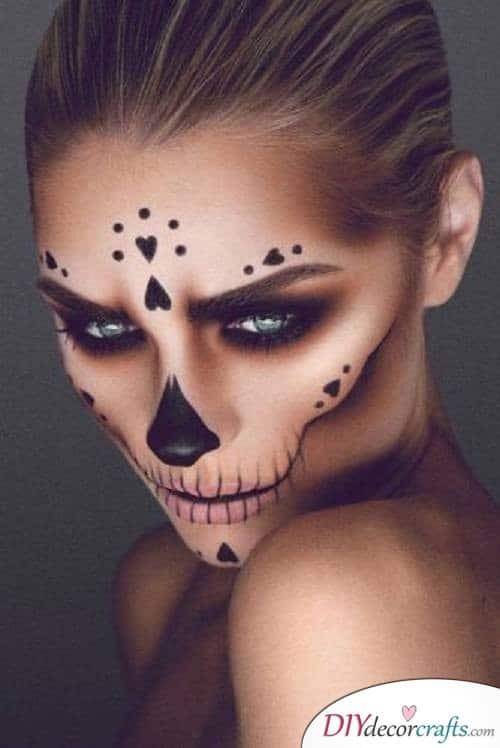 Skull Candy - Halloween Makeup Ideas