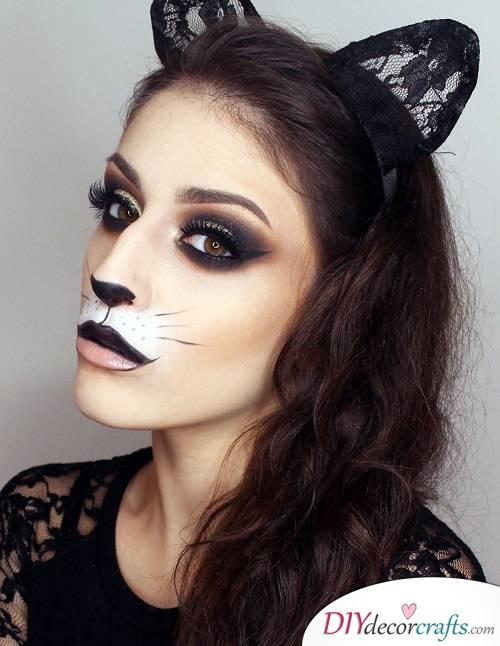 Cat - Halloween Makeup Ideas