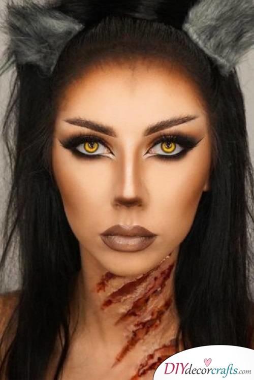 Werewolf - Halloween Makeup Ideas