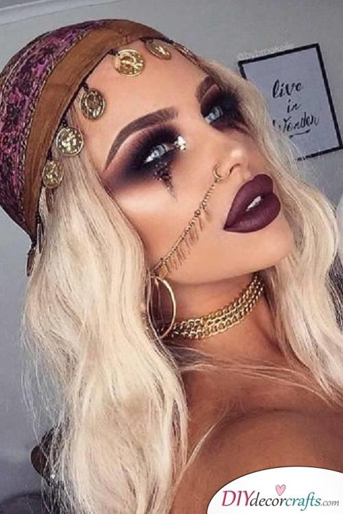 Fortune Teller - Halloween Makeup Ideas