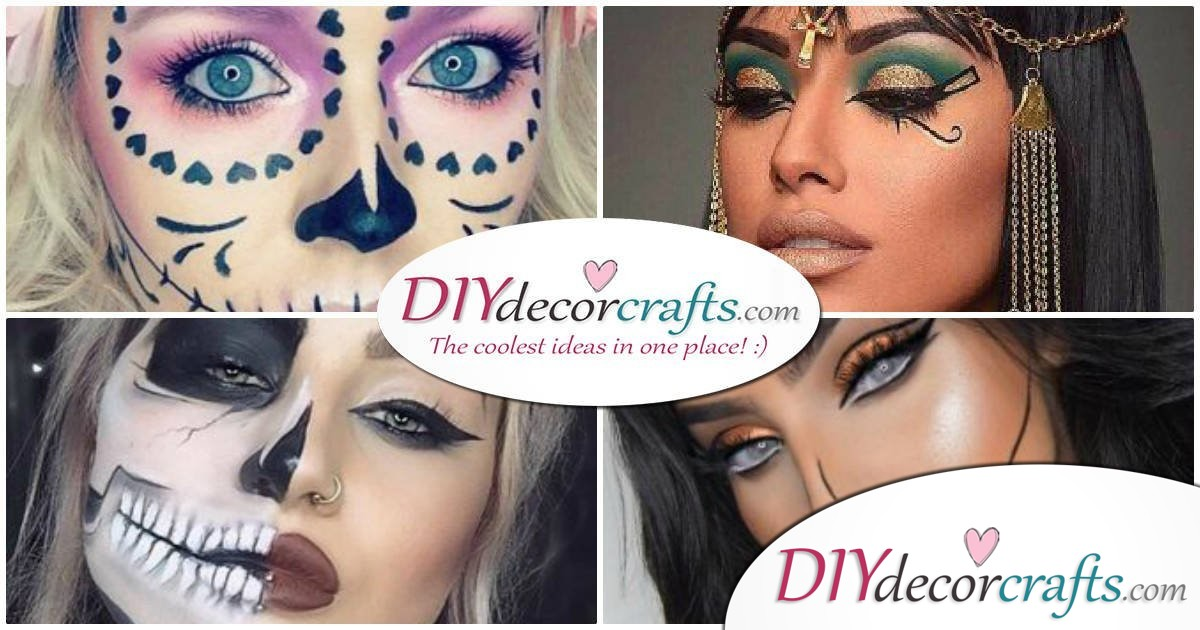 Sexy and Sensual Halloween Makeup Ideas For Women