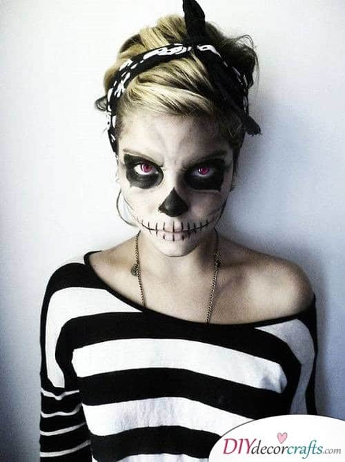 Skeleton - Halloween Makeup Ideas