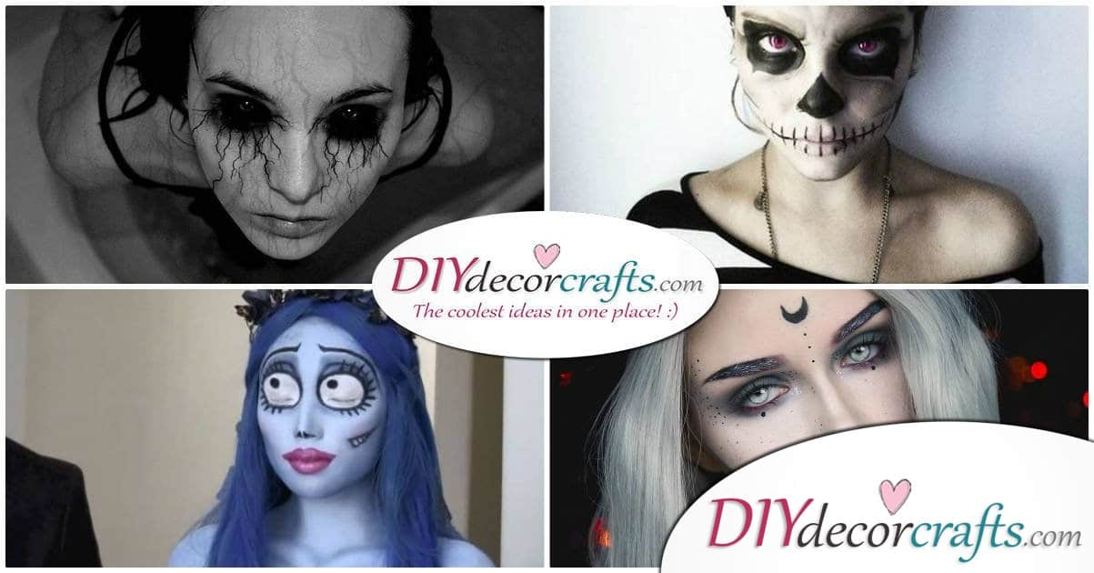 Top 10 Creative and Horrifying Halloween Makeup Ideas