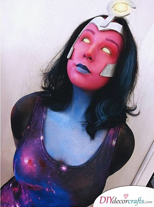 Supernova - Halloween Makeup Ideas