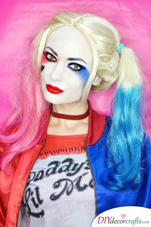 Harley Quinn - Halloween Makeup Ideas