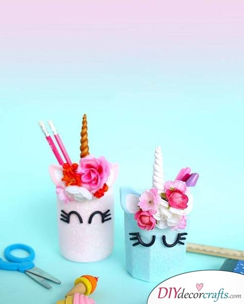 Unicorn Mason Jar - DIY Unicorn