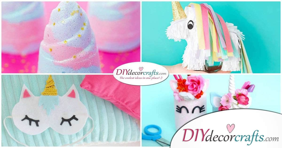 10 Amazing and Impressive DIY Unicorn Ideas