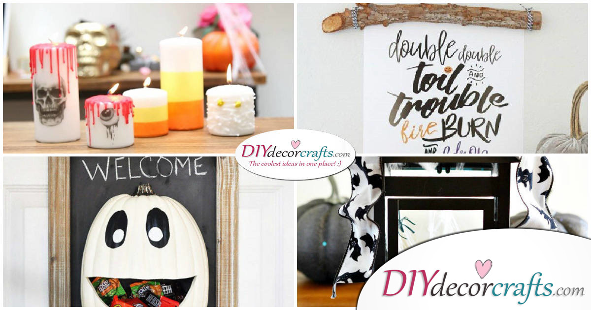 10 DIY Halloween Decor Ideas
