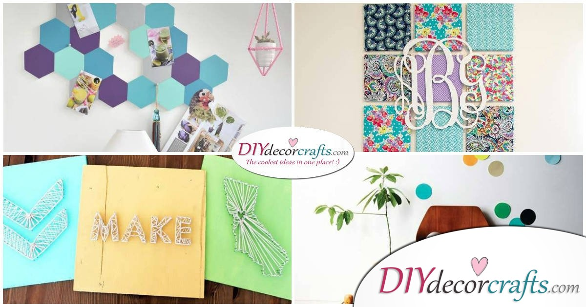 10 Wall Decor Ideas, Simple DIY Wall Decors