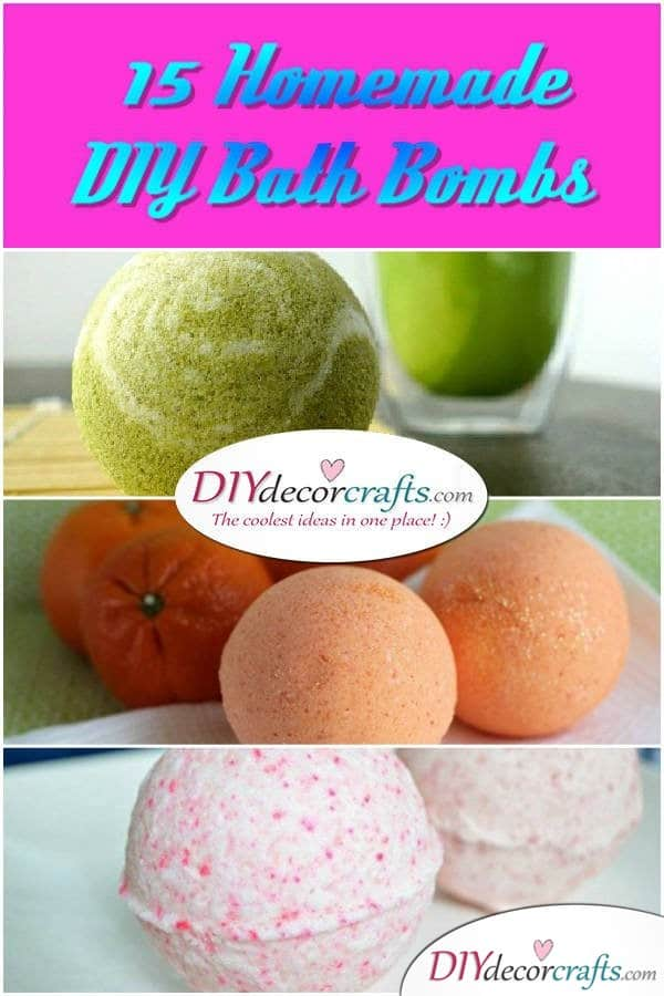 15 Homemade DIY Bath Bombs - DIYDecorCrafts