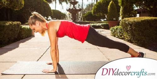 Full Plank Passé Twist 1 - Exercises