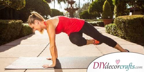 Full Plank Passé Twist 2 - Exercises