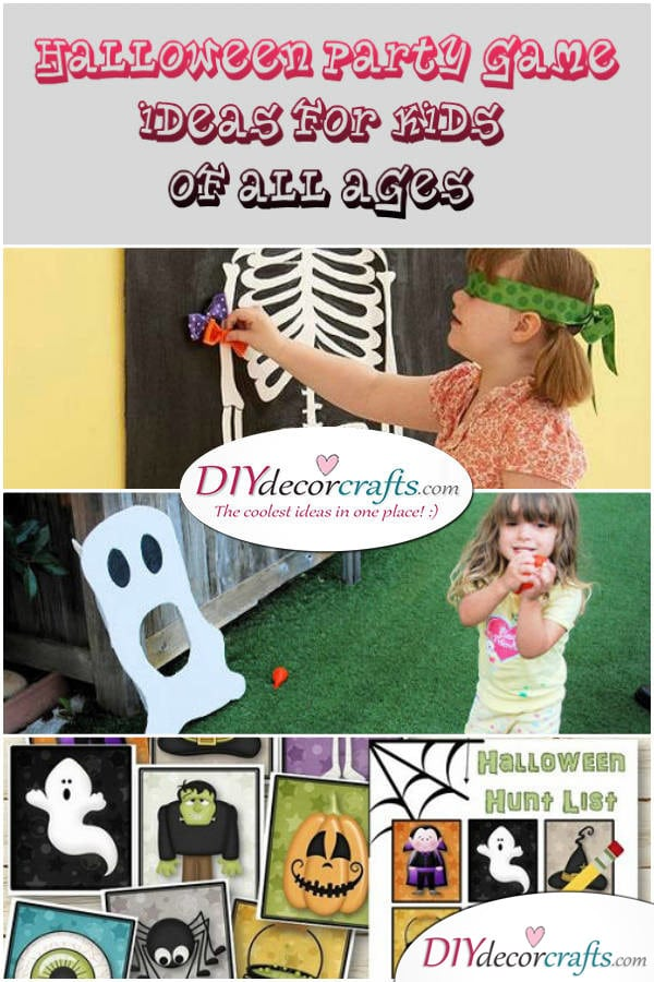 DIY Halloween Party Game Ideas For Kids Of All Ages - DIYDecorCrafts
