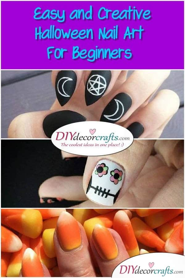Easy and Creative Halloween Nail Art For Beginners - DIYDecorCrafts