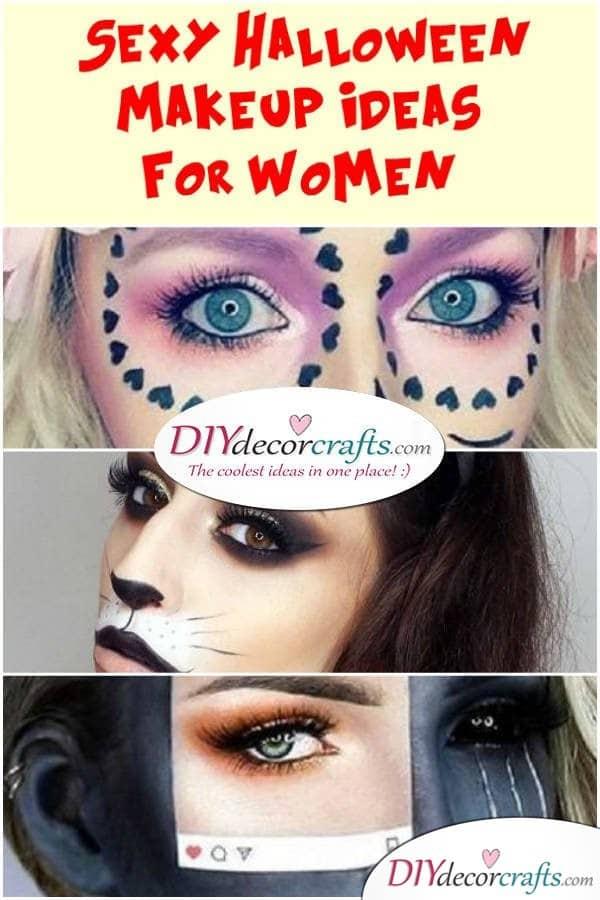 Sexy and Sensual Halloween Makeup Ideas For Women - DIYDecorCrafts