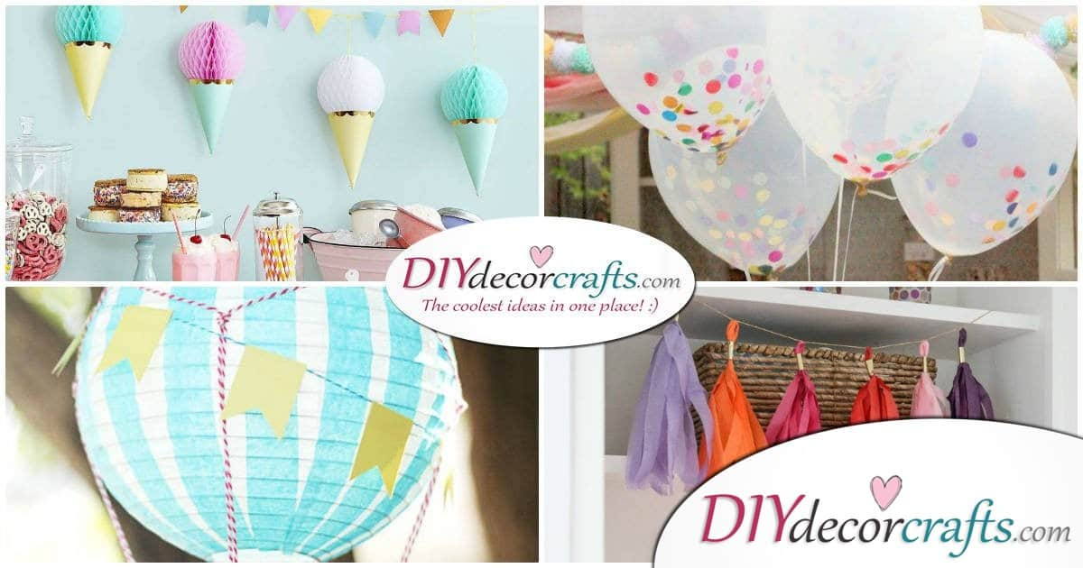 Simple DIY Party Decor Ideas For Any Occasion