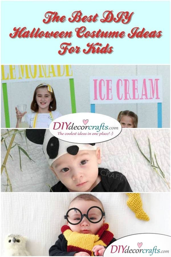 The Best DIY Halloween Costume Ideas For Kids - DIYDecorCrafts