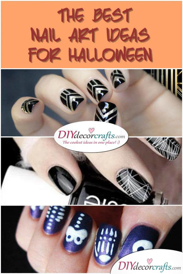 The Best Nail Art Ideas For Halloween - DIYDecorCrafts