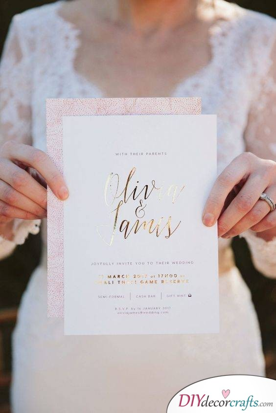 Refined and Modern - Elegant Wedding Invitations