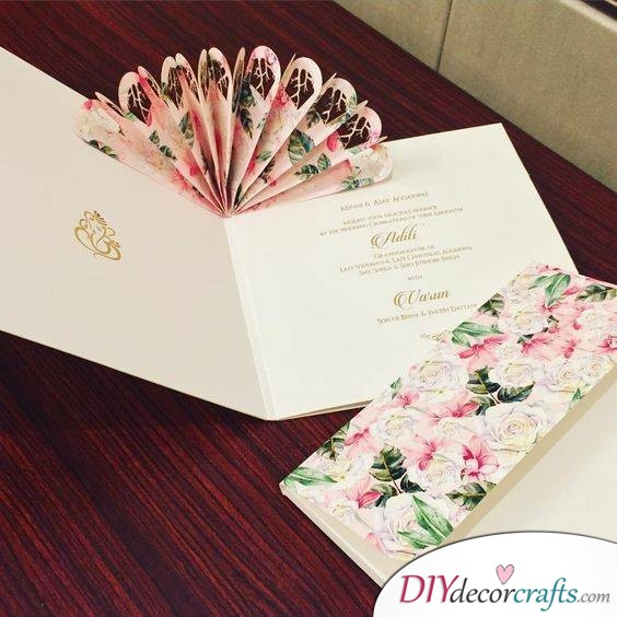 Fan Invitation - Extraordinary Wedding Invitation Cards