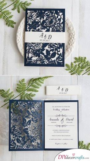 A Laser Cut Invitation - An Exquisite Card for Your Guests