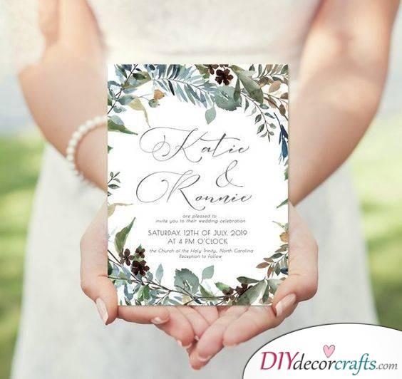 A Drop of Elegance - Handmade Wedding Invitations