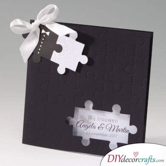 A Puzzling Invitation - A Fun Game for Your Guests