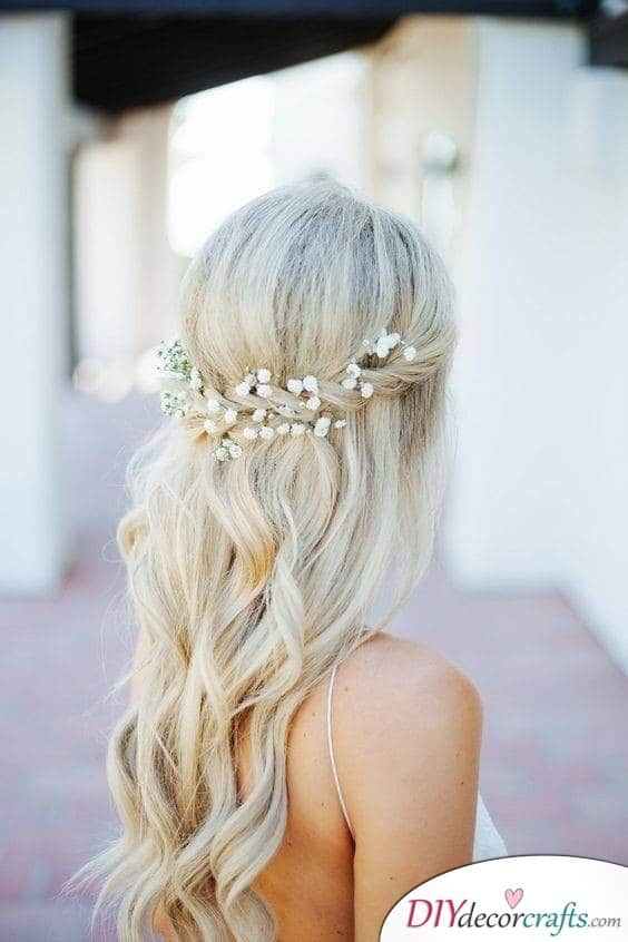 Platinum Blonde with a Braid - Braided Hairstyles for Long Hair