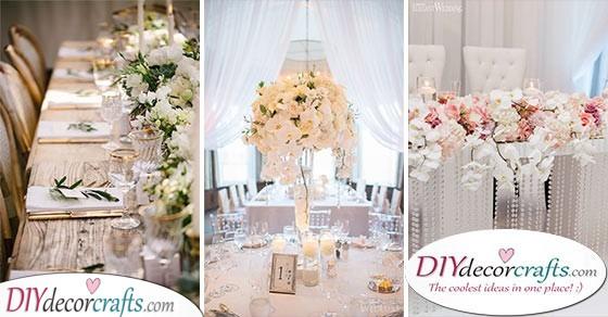 Wedding Table Decoration Ideas Simple Wedding Table