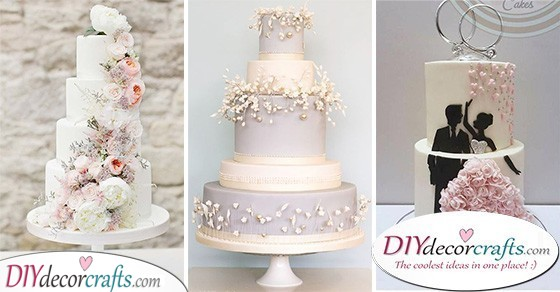 40 SWEET WEDDING CAKE DECORATION IDEAS