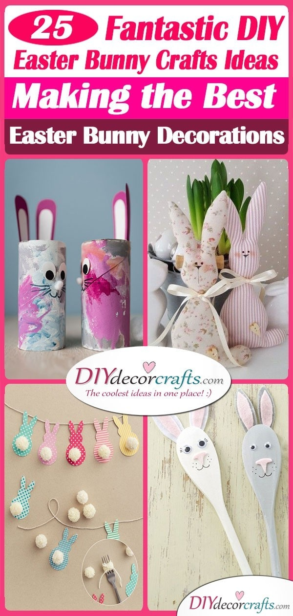 Easter Bunny Craft Ideas 25 Fantastic Easter Bunny Decorations