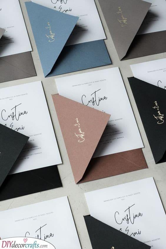Simple Elegance - This Wedding Invitation Speaks for Itself