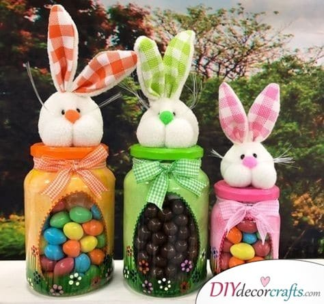 Easter Candy - Easter Bunny Decorations
