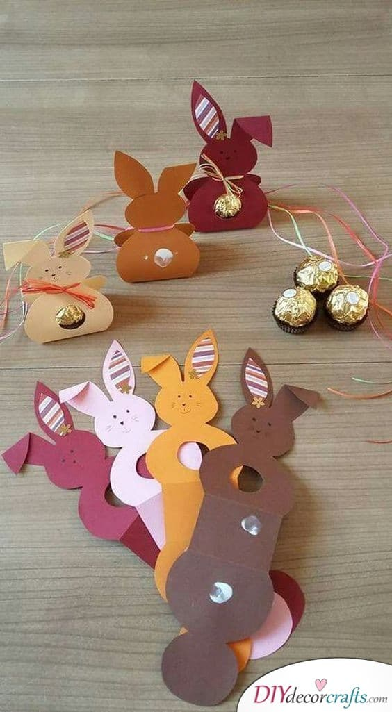 Bunny Boxes - Easter Crafts