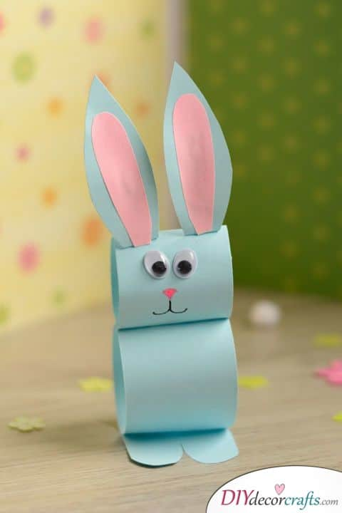 Another Paper Roll Rabbit - Great Easter Decor