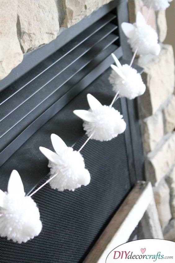 Bunny Garland - Easter Bunny Decorations