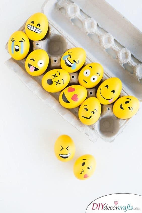 Emojis - How Eggciting